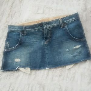 Mini Guess denim skirt